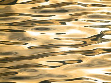 Fotograf Bodensee, goldene Spiegelung im Wasser